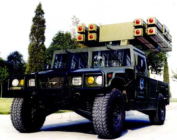 图文:猎手-1轻型防空导弹系统