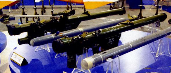 图文:前卫-1和前卫-1W防空导弹系统