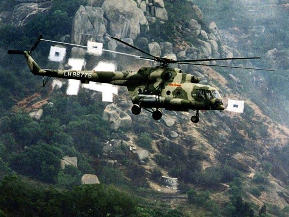 图文:中国米-171中型直升机