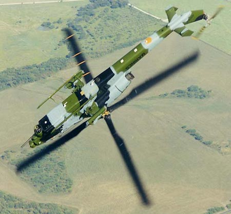 树梢杀手:争霸第五空间的武装直升机(组图)
