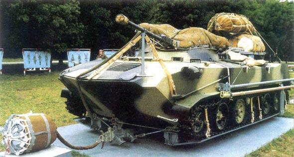 苏联/俄罗斯БМД-3/BMD-3伞兵战车