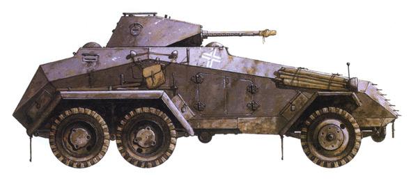 现代意义轮式装甲车迅猛发展时期(图)