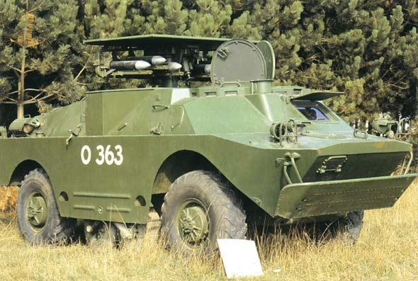 图文:俄制BRDM-2装甲侦察车