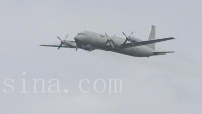 俄罗斯总共将为印度海军改进3架伊尔-38型飞机.