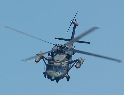 图文:陆上自卫队装备的UH-60J直升机