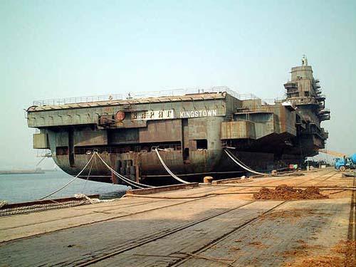 台湾当局宣扬大陆航母威胁论刺激美国日本