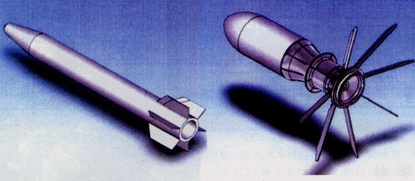 采用金属药形罩的空心装药战斗部(图)
