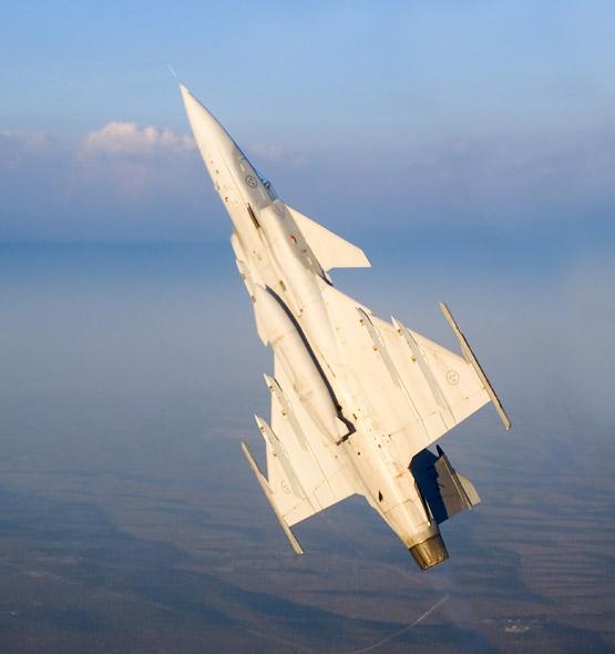 图文:瑞典研制的JAS-39鹰狮战斗机