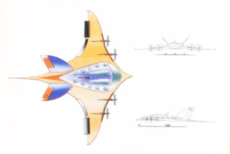 第一届专业组三等奖:阳光一号空中客车(组图)