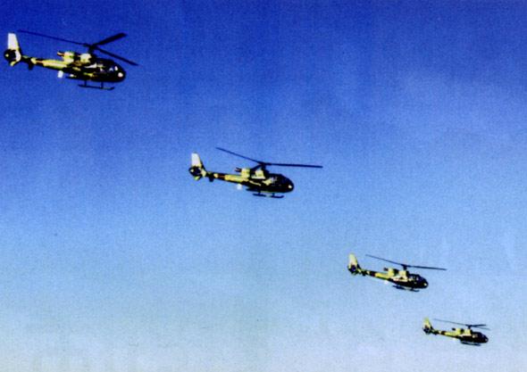 """法国SA341/342""""小羚羊""""轻型反坦克直升机"""