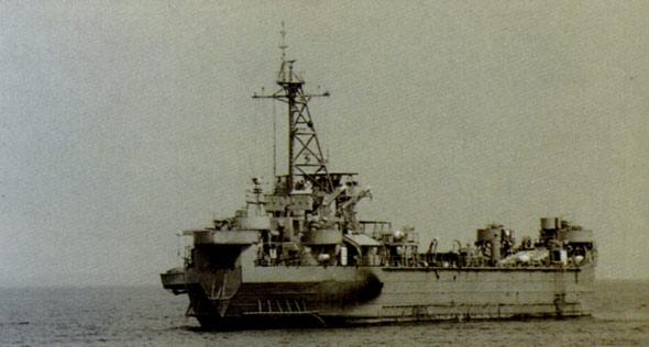 图文:中国无偿援助越南的505号舰