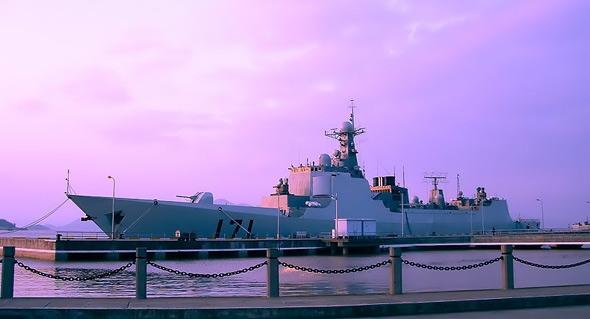 21世纪中国海军三大远洋舰队构想(组图)