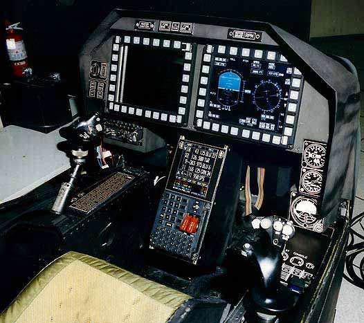 图文:ah-1z攻击直升机驾驶舱