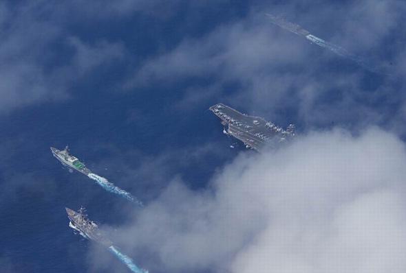美军假想2011年武力干预台海失败(组图)