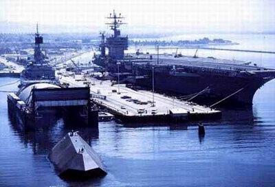 """美国海军""""海影""""号隐身试验舰即将退役(组图)"""