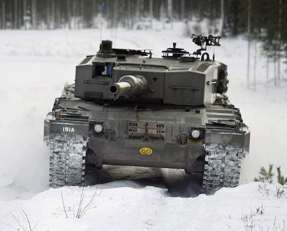 德国豹2主战坦克