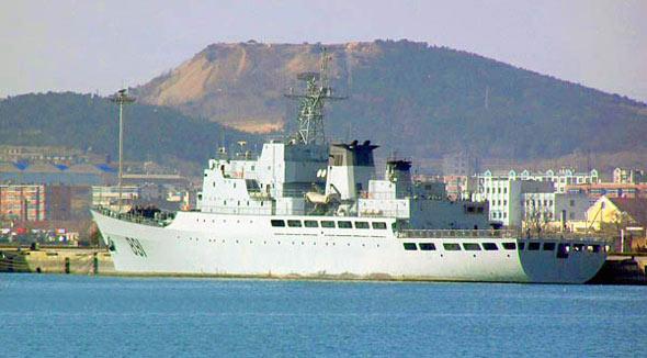 """图文:该舰现舷号""""891""""舰名""""毕�N"""""""
