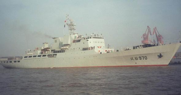 图文:中国海军970号综合试验舰