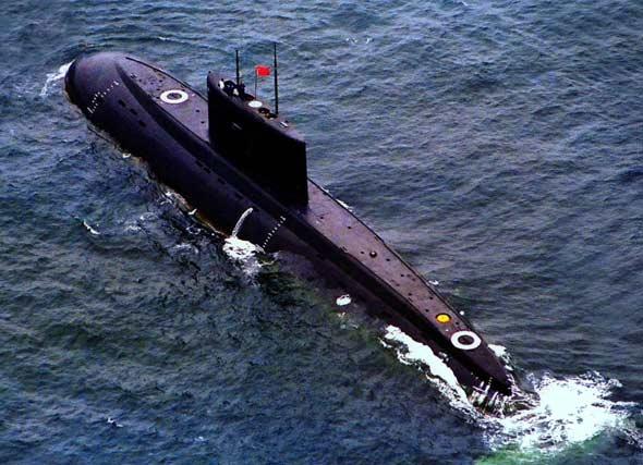 图文:人民海军基洛潜艇将是未来水下主力