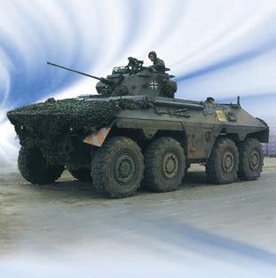 武器纵横:德日现役装甲侦察车战力对比(组图)