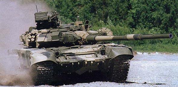 俄制T-80U/90坦克实弹防护试验记录解秘(组图)