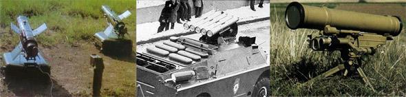 图文:俄制AT-5、7、14型反坦克导弹