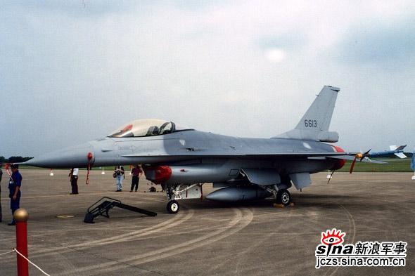 图文:台湾空军F-16编号6613