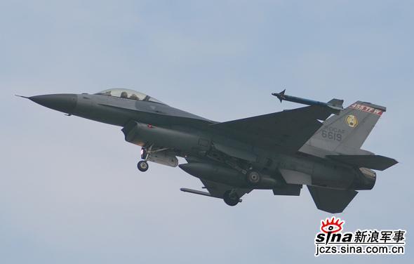图文:台湾空军F-16编号6619