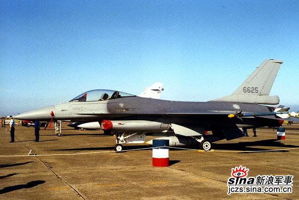 图文:台湾空军F-16编号6625