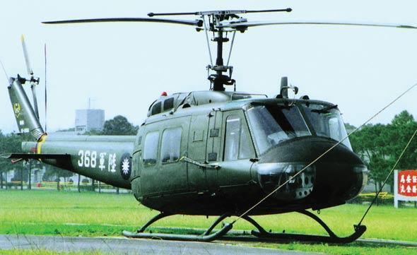 图文:UH-1依洛魁通用直升机