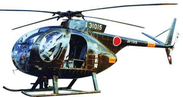 图文:OH-6J/D联络/观察直升机