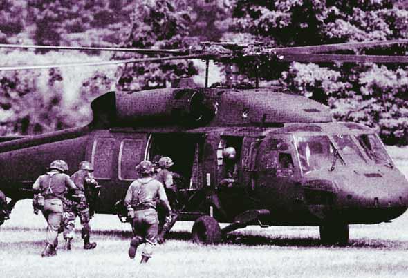 图文:陆上自卫队的UH-60直升机