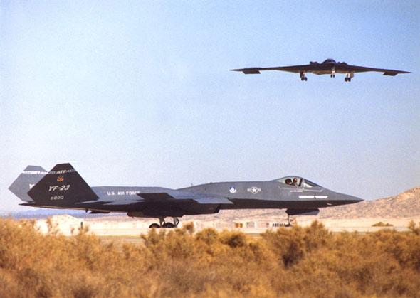 败者为王:诺斯罗普YF-23战机终极解读(组图)