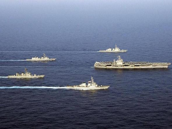 解放军观摩关岛军演具有超越军事的意义(图)
