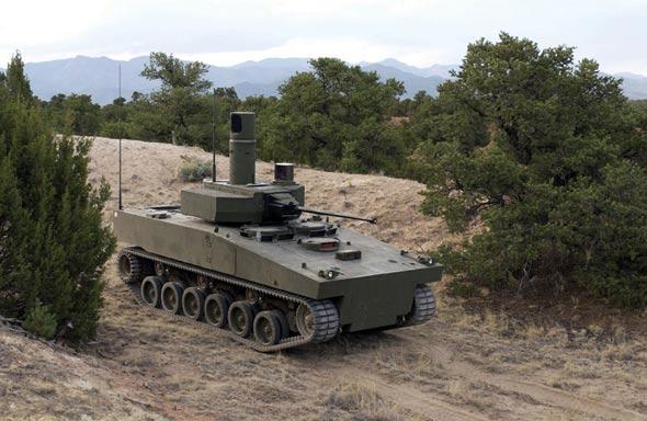 武器纵横:美英未来装甲侦察车(组图)