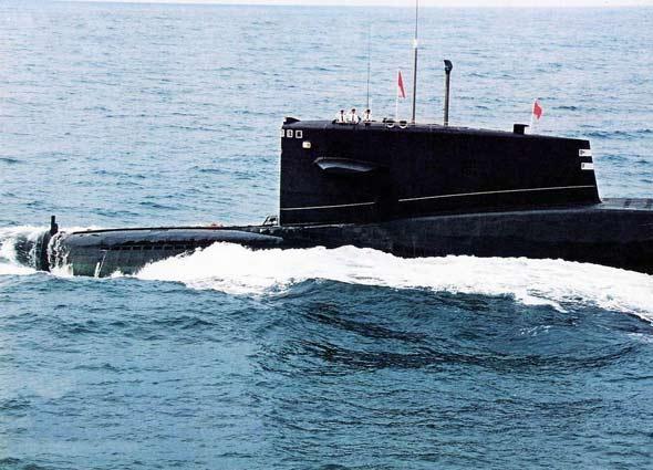 台湾媒体挑唆美军阻击中国094核潜艇(组图)