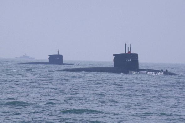 美国确认分两步向台出售8艘柴电潜艇(组图)