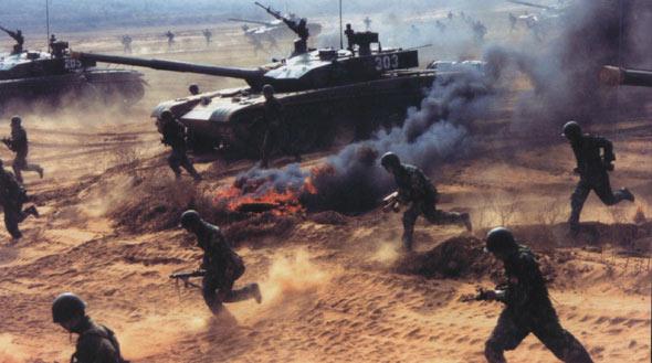 北京军区装甲团最新型坦克全部形成战力(组图)
