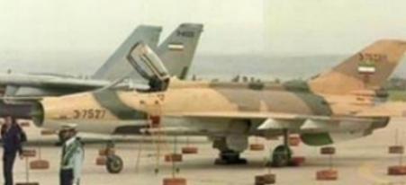 图文:伊朗空军列装的中国制歼-7N战机