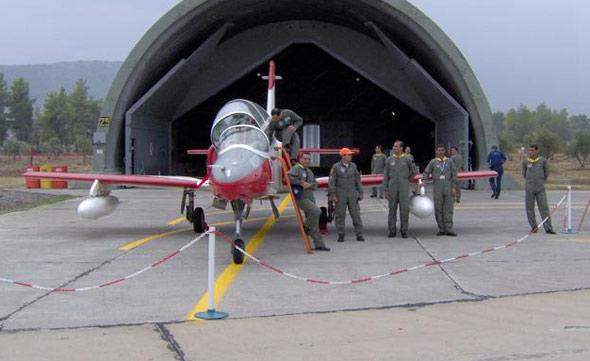 图文:埃及空军K8教练机参加印度航展