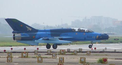 图文:孟加拉空军最新购买的中国制歼七PG战斗机
