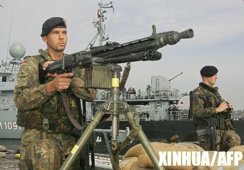 组图:德国将派出海军参与黎巴嫩维和行动
