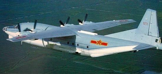 图文:运-8型海上巡逻机