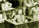图文:正在受审的日本甲级战犯