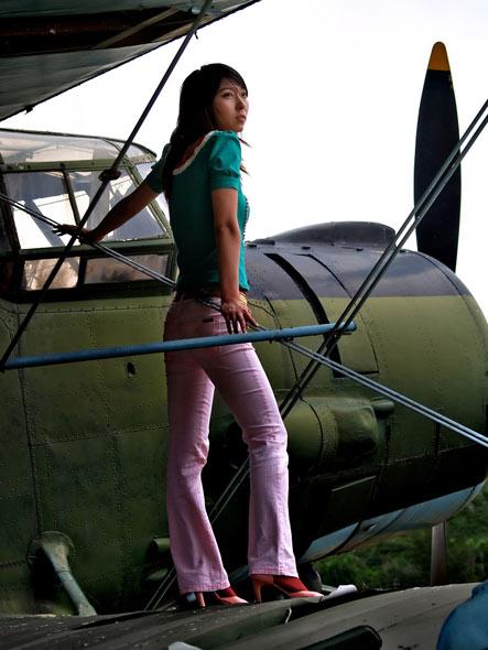 图文:机翼远眺