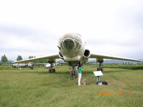 组图:中国航空博物馆特种机型