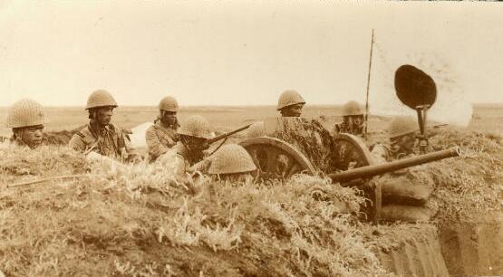 图文:诺门罕之战中日军反坦克炮阵地