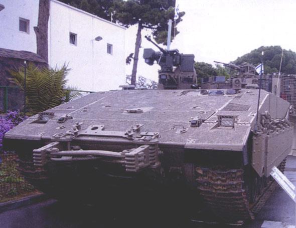 加沙虎啸:以色列雌虎重型装甲人员输送车(组图)