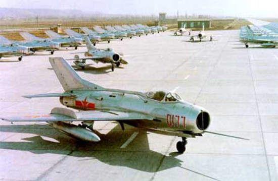 歼六时期中国空军发展长期停滞(图)