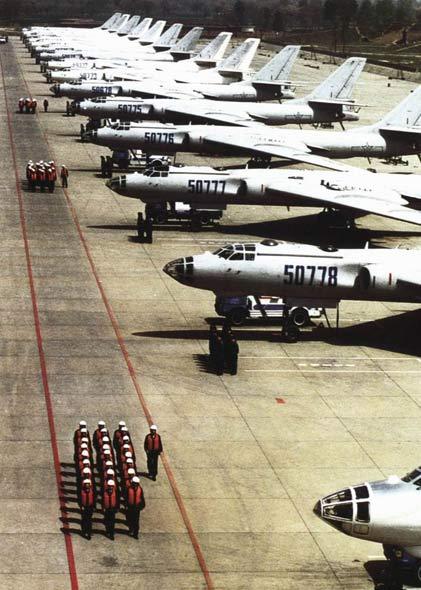 图文:轰六是中国空军战略打击核心至今没后续机